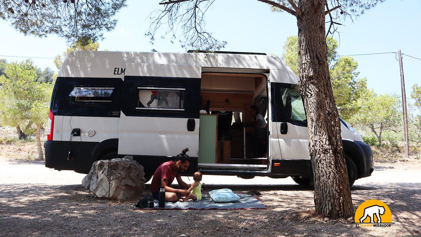 Herramientas para acampar