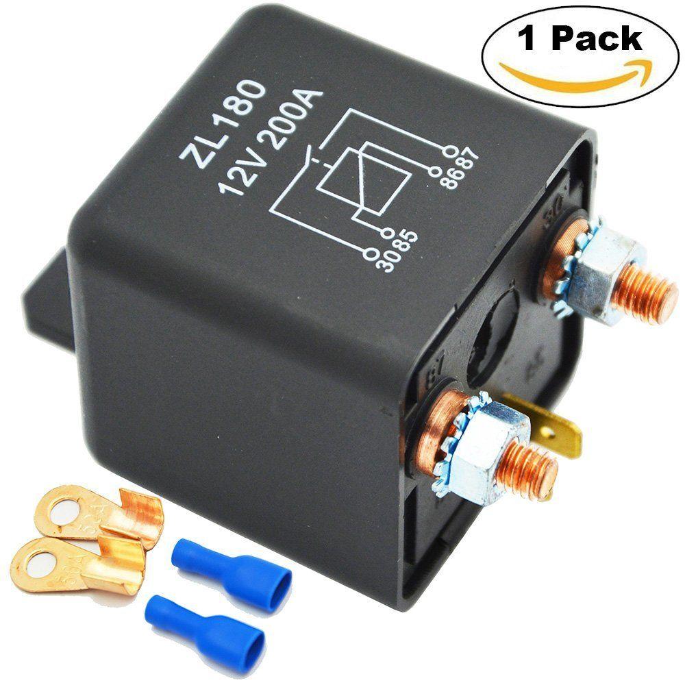 Relé Separador Conexión Segunda Batería Ehdis 12V 200A