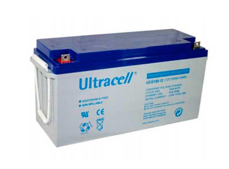 Bateria AGM 150ah Ultracell