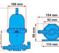 Vaso de Expansión Universal Fiamma A20 para Bomba AQUA 8